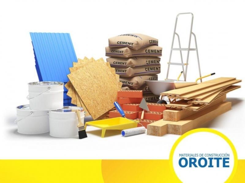 Oroite materiales de construcción Encarnación