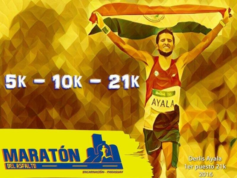 Maratón del Asfalto 2017 Encarnación