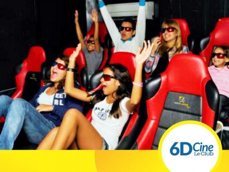 Cine 6D Le Club Encarnación