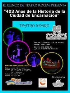 Historia de Encarnación en Teatro Negro