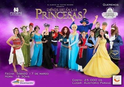 Dónde están las princesas?