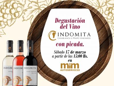 Degustación de Vinos Indómita