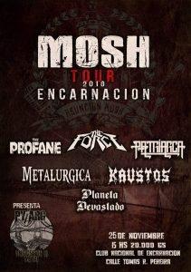 MOSH TOUR 2018 ENCARNACIÓN