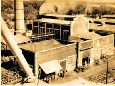 Chimenea ex fábrica La Fabril Encarnación