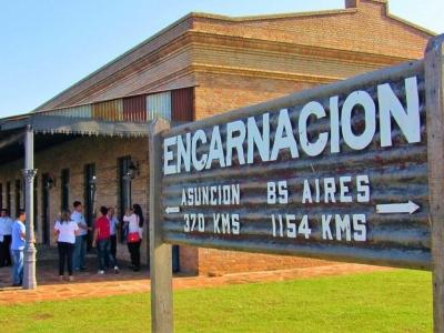 Réplica de la Estación de Tren Encarnación