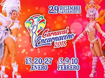 Lanzamiento Carnavales Encarnacenos 2018