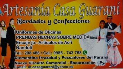 Artesanía Casa Guaraní
