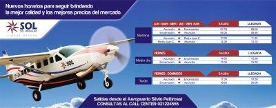Horario de vuelos a Encarnación