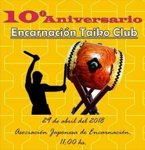 10° Aniversario Encarnación Taiko Club