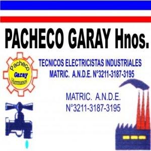 Pacheco Garay Hnos. Técnico electricista industrial.